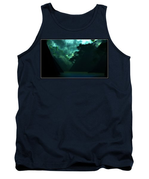 Tank Top featuring the digital art The Majesty... by Tim Fillingim