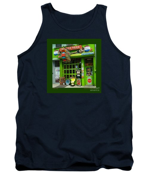 Trailer Park Tank Top by Patricia Overmoyer