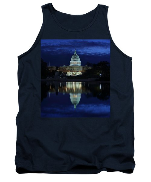 Us Capitol - Pre-dawn Getting Ready Tank Top