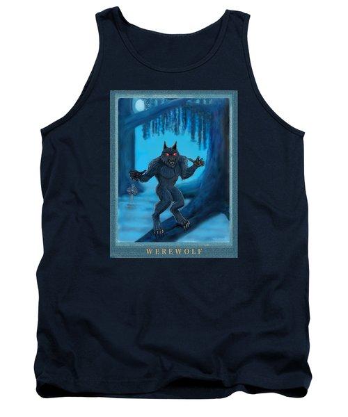 Werewolf Tank Top by Glenn Holbrook