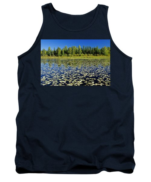 Wetland And Boreal Forest Tank Top