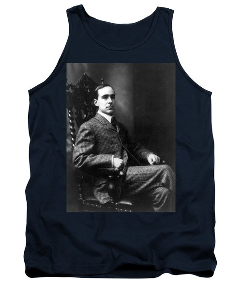 Tank Top featuring the photograph Winston Churchill - C 1900 by International  Images