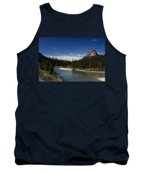 Castle Mountain 1 Tank Top