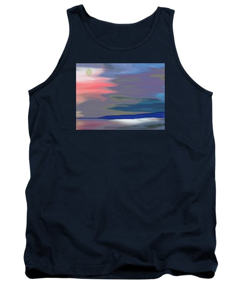 A Quiet Evening Tank Top by Lenore Senior