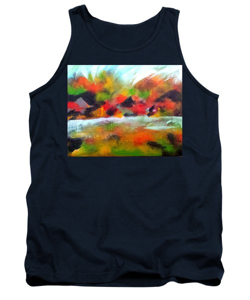 Autumn Blaze Tank Top