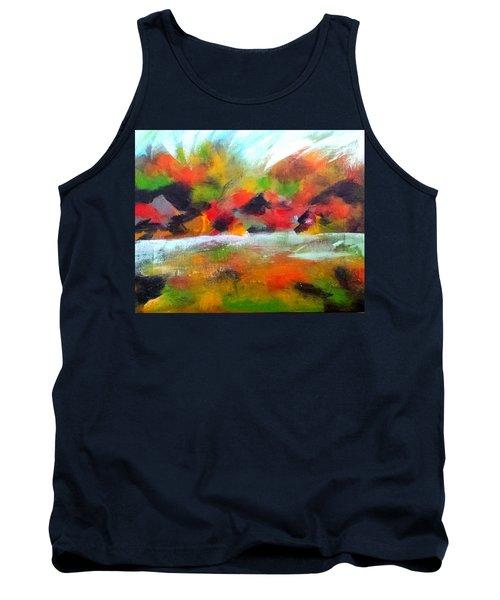 Autumn Blaze Tank Top