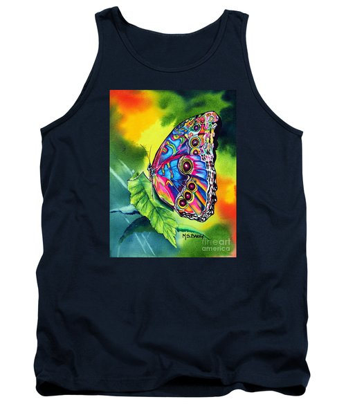 Tank Top featuring the painting Beatrice Butterfly by Maria Barry