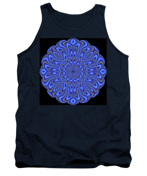 Blue Fire Tank Top