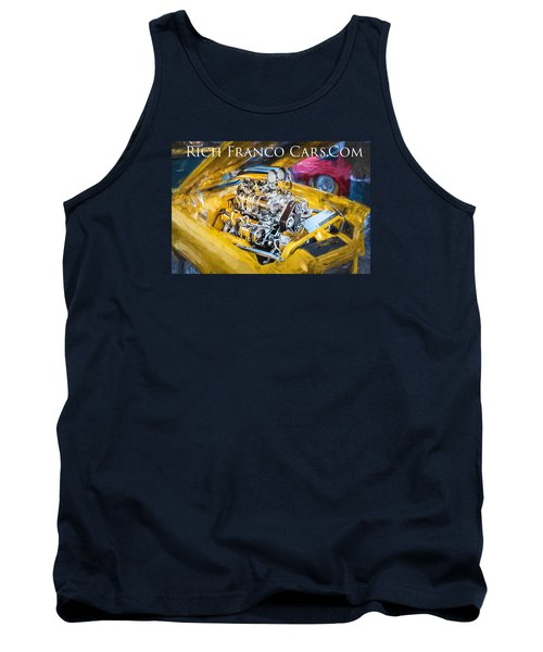 Business Card Tank Top