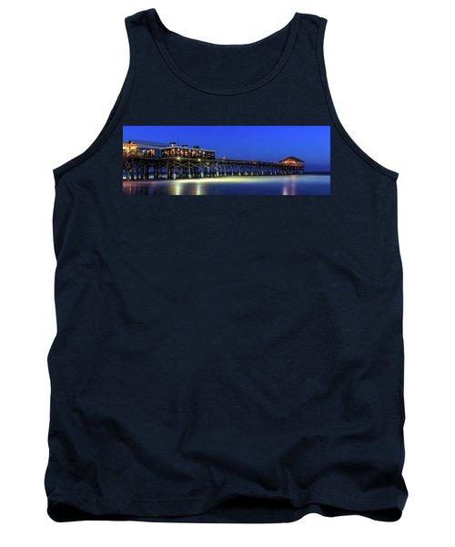 Cocoa Beach Pier At Twilight Tank Top