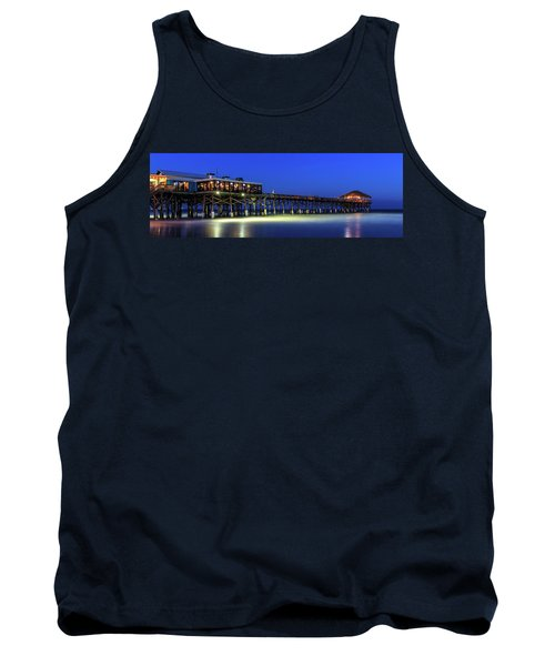 Cocoa Beach Pier At Twilight Tank Top