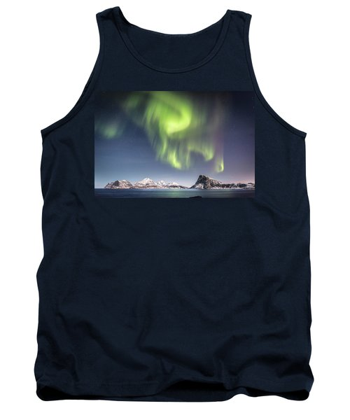 Curtains Of Light Tank Top by Alex Conu