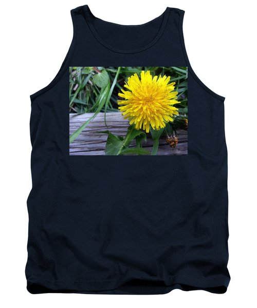 Tank Top featuring the photograph Dandelion by Robert Knight