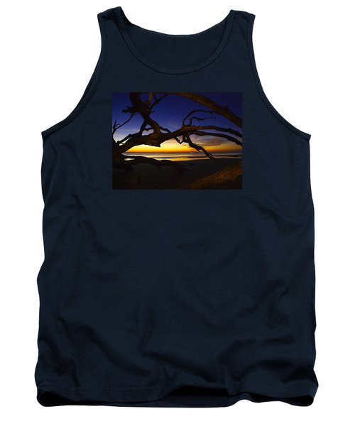 Tank Top featuring the photograph Golden Moments by Laura Ragland