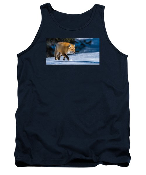 Tank Top featuring the photograph Handsome Mr. Fox by Yeates Photography