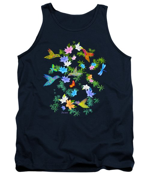 Hummingbird Spring Tank Top by Teresa Ascone