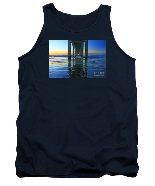 La Jolla Blue  Tank Top