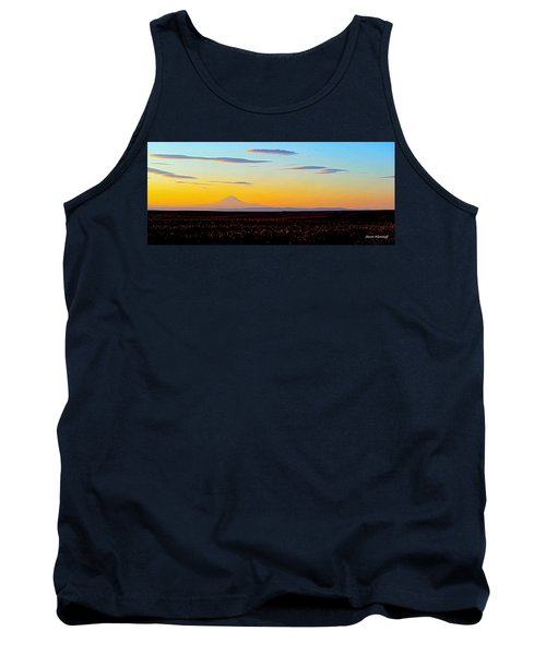 Mt. Adams Sunset Tank Top