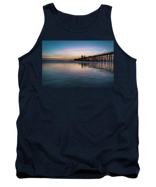 Oceanside Pier Sunset Tank Top