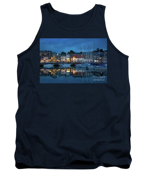 Tank Top featuring the photograph Padstow Evening by Brian Jannsen
