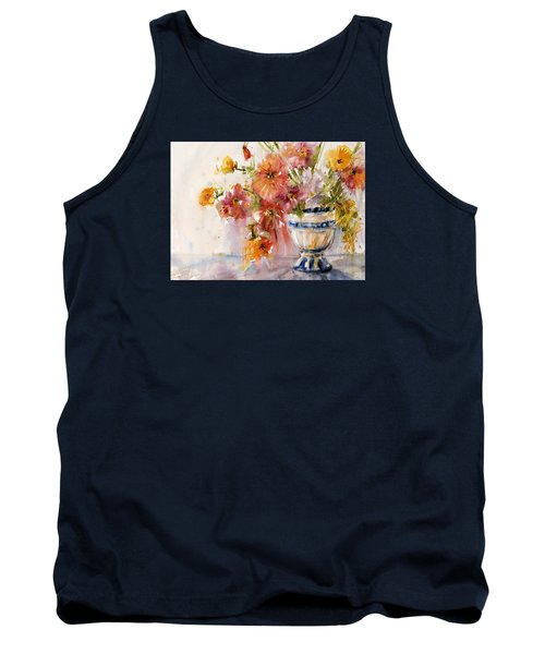 Poppies Tank Top by Judith Levins