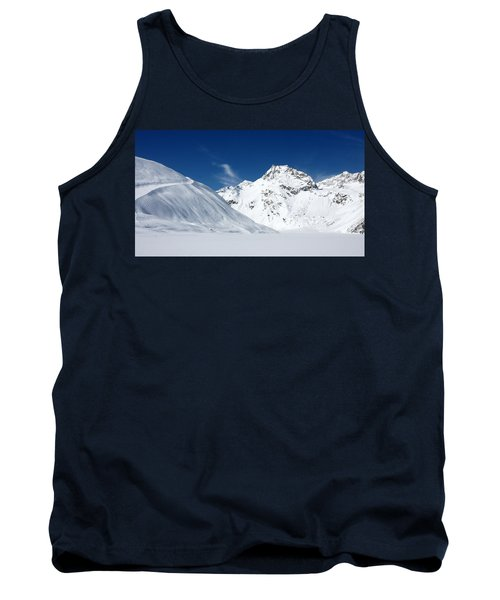 Tank Top featuring the photograph Rifflsee by Christian Zesewitz