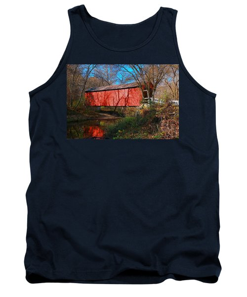 Sandy /creek Covered Bridge, Missouri Tank Top