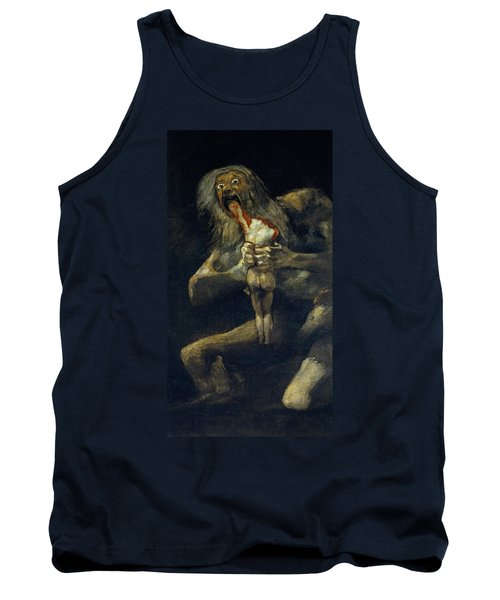 Saturn Devouring His Son Tank Top