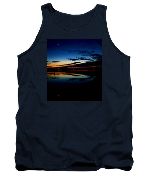 Shades Of Calm Tank Top by William Bartholomew