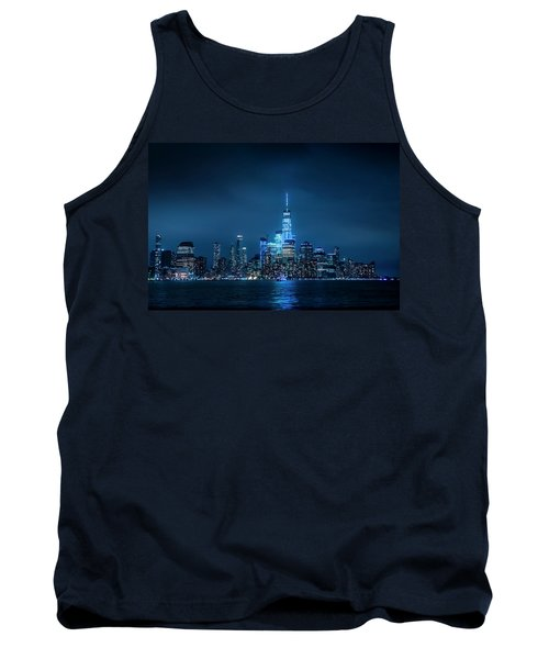 Skyline At Night Tank Top