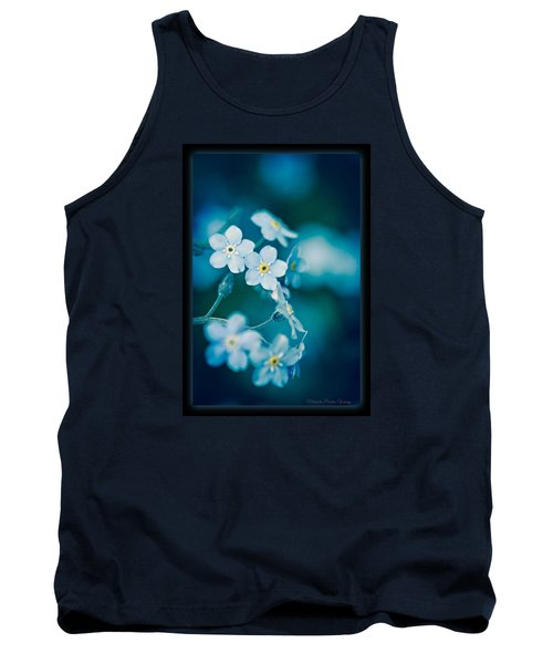 Tank Top featuring the photograph Soft Blue by Michaela Preston