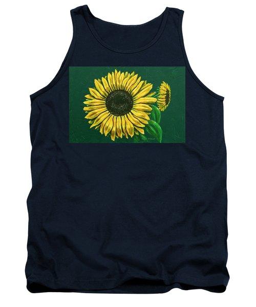 Sunflower Tank Top by Ron Haist
