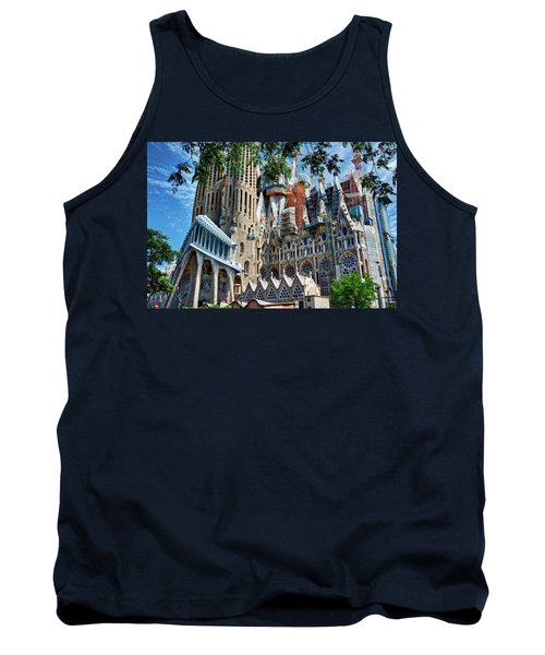 The Expiatory Temple Of The Holy Family Tank Top