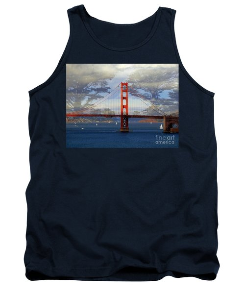 The Golden Gate Bridge  Tank Top