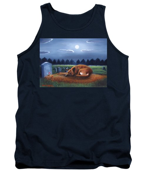 Tank Top featuring the painting The Watchman by Gene Gregory