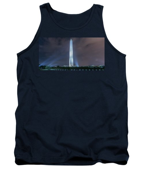 Tank Top featuring the photograph Washington Monument by Theodore Jones