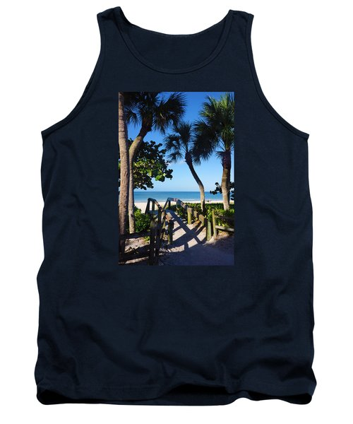 14th Ave S Beach Access Ramp - Naples Fl Tank Top