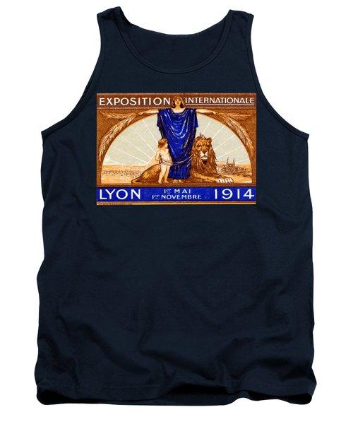 1914 Lyon France Exposition Tank Top