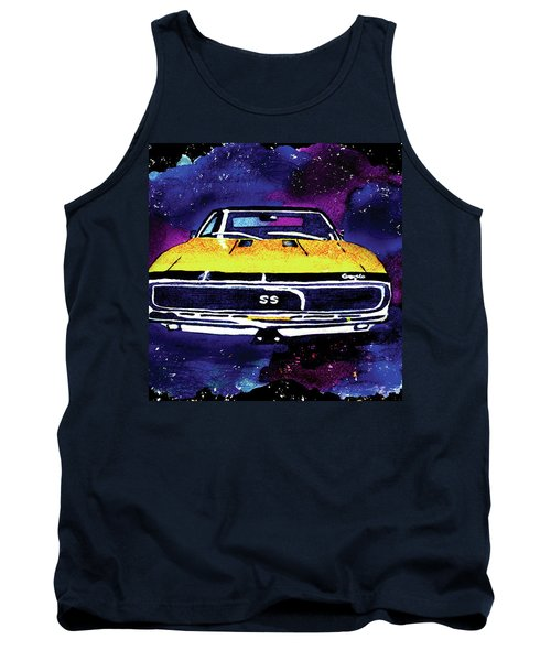 1967 Chevy Camaro Ss Tank Top by Paula Ayers