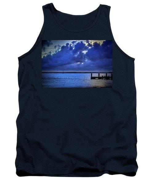 Blue Sunset Tank Top
