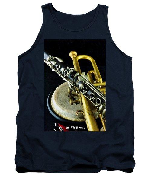 Jazz Tank Top by Elf Evans