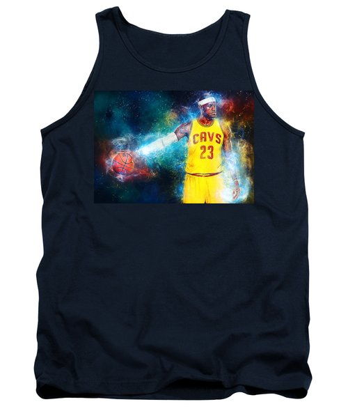Lebron James Tank Top by Taylan Apukovska