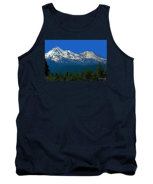 Mt. Shasta Tank Top by Steve Warnstaff