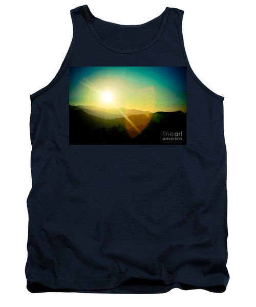 Sunrise In Himalayas Artmif Photo Raimond Klavins Tank Top