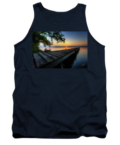 Sunrise Over Cayuga Lake Tank Top