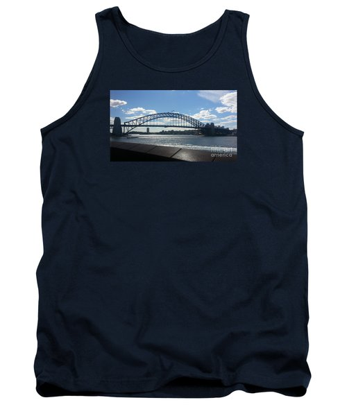 Sydney Harbor Bridge Tank Top by Bev Conover