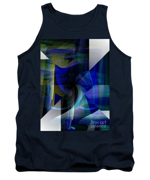 Transparency 4   Tank Top by Thibault Toussaint