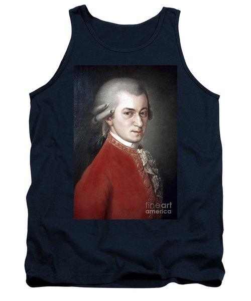 Wolfgang Amadeus Mozart Tank Top