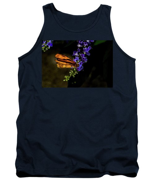 Tank Top featuring the photograph Butterfly by Jay Stockhaus