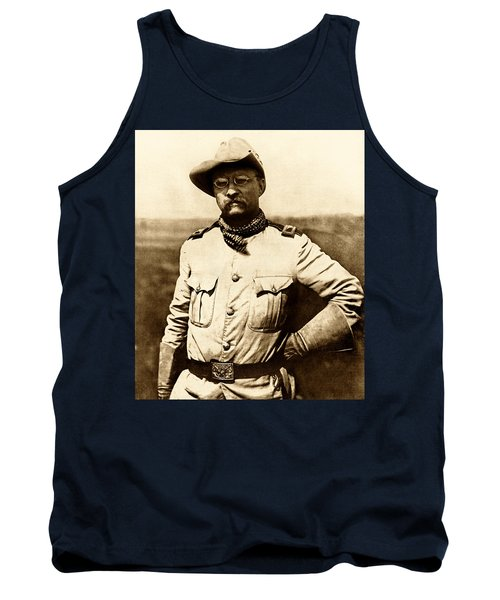 Colonel Theodore Roosevelt Tank Top